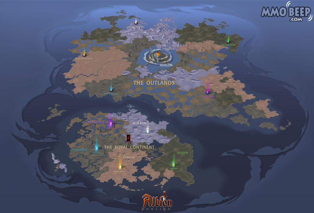 Albion Online Map 2019