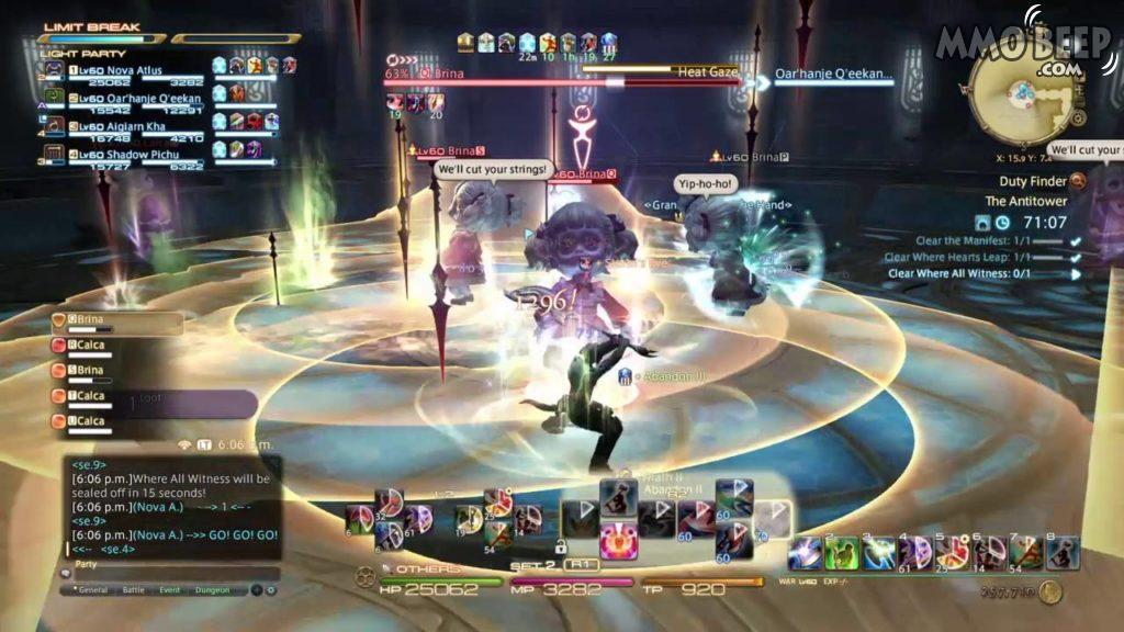 Final Fantasy XIV End Game 1