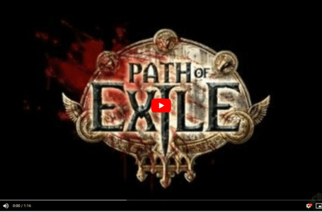 Path of Exile Official Trailer