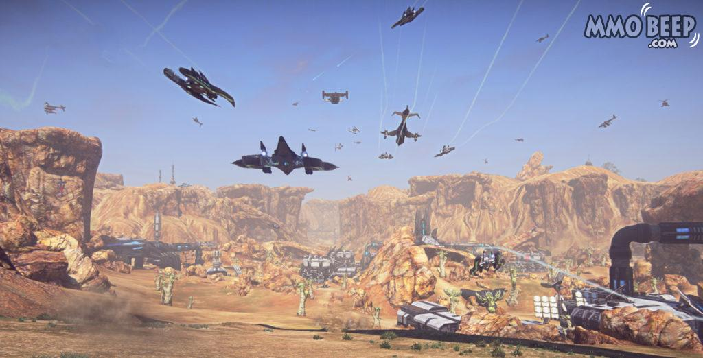 PlanetSide2 VS GamePlay Graphics