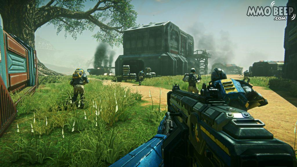 PlanetSide2 NC Gameplay