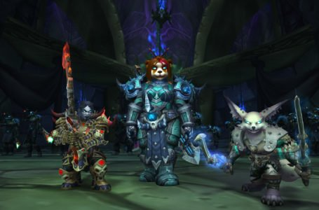 Pandaren and Death Knights Usable in World of Warcraft Visions of N'Zoth If Shadowlands Pre-Purchased