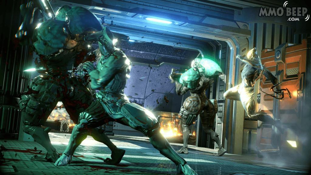Warframe Combat Ash Loki