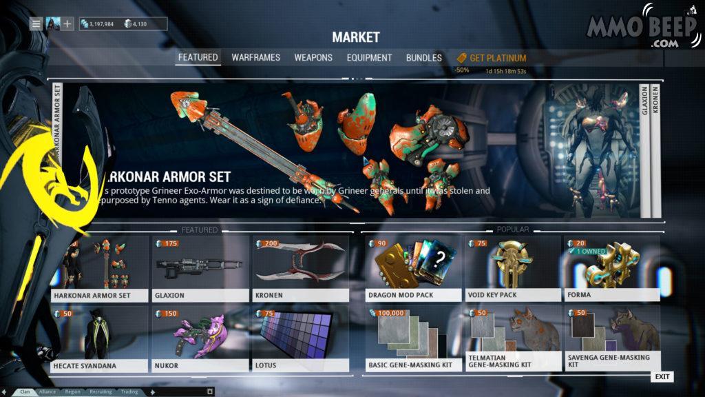 Warframe Marketplace
