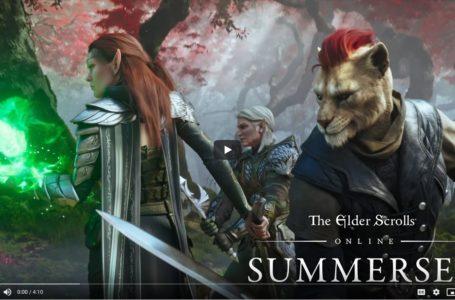 The Elder Scrolls Online Summerset Official Cinematic Trailer