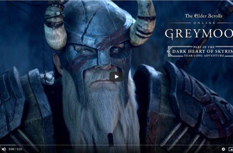 The Elder Scrolls Online Greymoor Announcement Cinematic