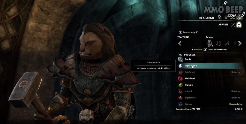 Elder Scrolls Online Crafting Blacksmith