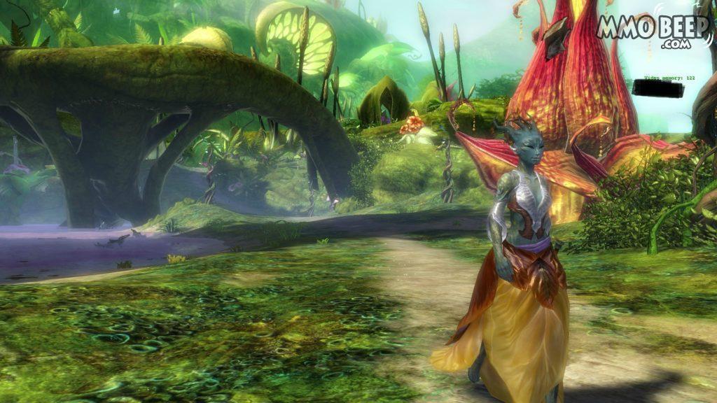 Guild Wars 2 Sylvari Starting Zone