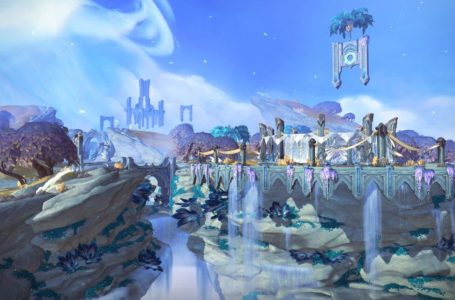 World Of Warcraft Shadowlands Pre-Patch Character Wipes Out Incoming