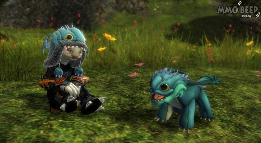 GuildWars 2 Baby Aurene Bundle Colorful Bundle Added For Charity Fundraising Drives.