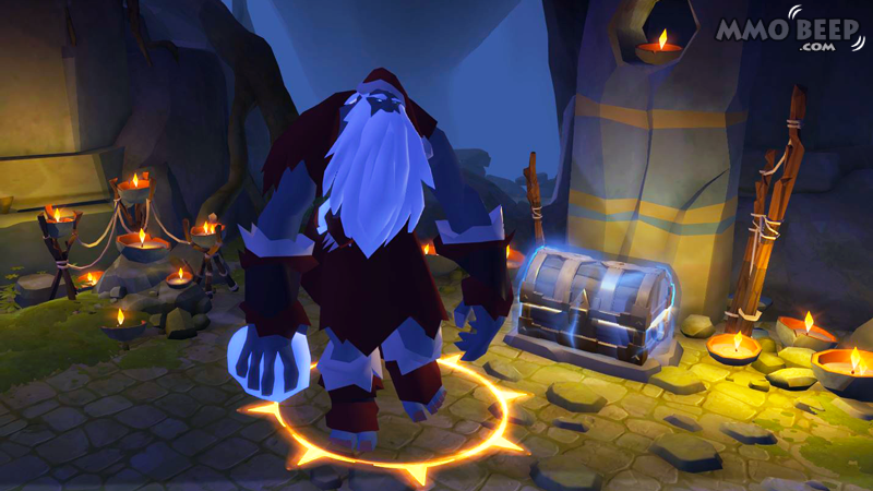 Uncle Frost is Visiting Albion Online