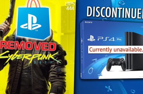 Sony Removes Cyberpunk 2077 From Its Store And Is Now Issuing Refunds For It