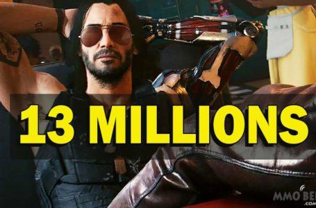 Cyberpunk 2077 13 Million Copies Sold Despite Refunds