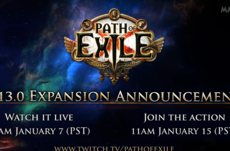 Path Of Exile New Expansion To Be Revealed This Wednesday On Twitch