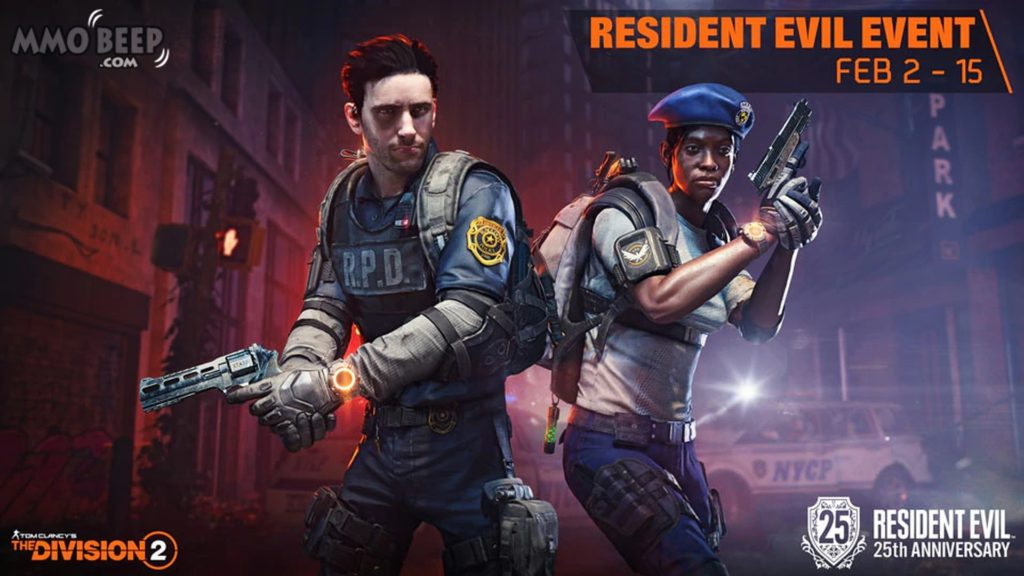 The-Division-2-Celebrates-Resident-Evil-25th-Anniversary-With-Exclusive-RPD-Themed-Cosmetics