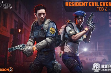 The Division 2 Celebrates Resident Evil's 25th Anniversary With Exclusive RPD-Themed Cosmetics.