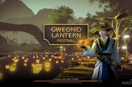 Gweonid Lantern Festival Comes Back Again To ArcheAge