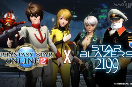 Phantasy Star Online 2 Introduces Space Battleship Yamato Scratch Ticket