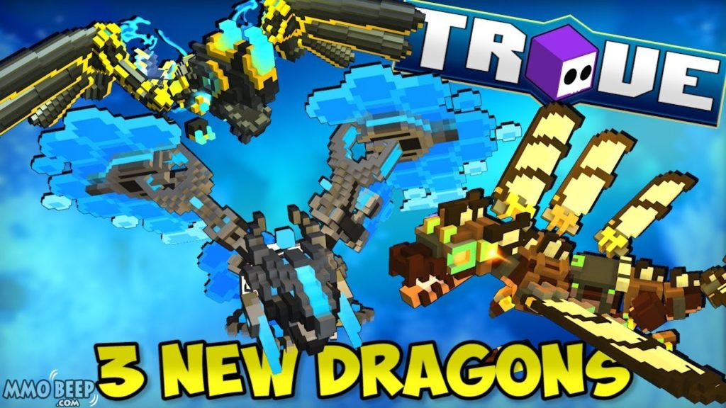 Trove Deep Dragon mounts added to console