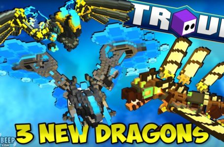 Trove Deep Dragon mounts added to console players in the latest update