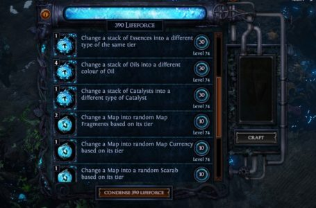 Path of Exile Harvest Crafting New Plan Released