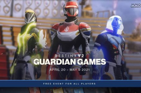 Destiny 2 Guardian Games are back on April 20 with changed scoring and a new playlist