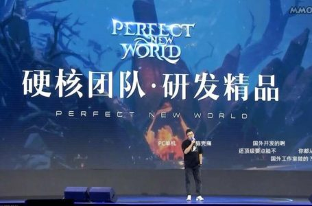 Perfect New World Revealed By Perfect World Games As A New PC, Console, And Mobile MMO Set To Launch Globally