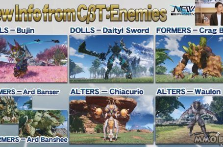 Phantasy Star Online 2 New Genesis Showcases New Enemy Types