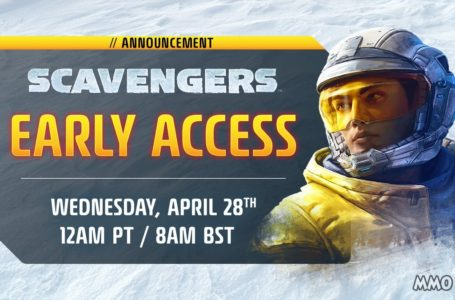 Scavengers Early Access Starting April 28th