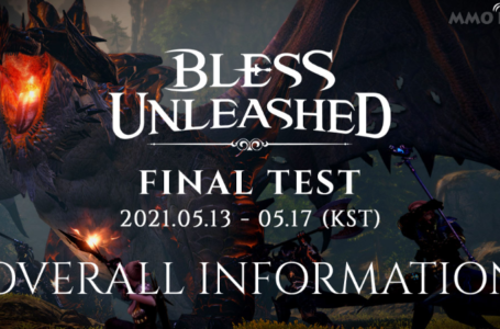 Bless Unleashed Final Test For PC Beta Has Started