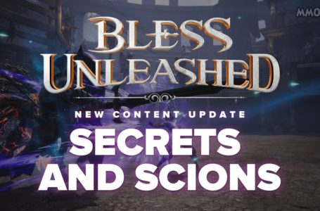 Bless Unleashed Secrets And Scions Update Has Been Released