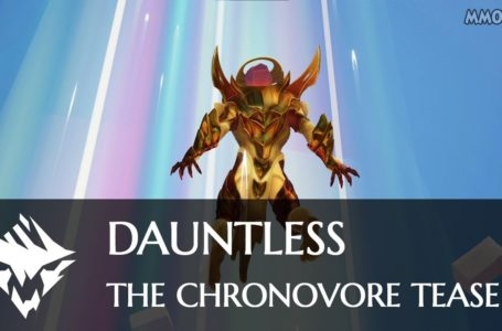Dauntless Chronovore arriving the next update, as well as a new hunting grounds called Paradox Breaks while commemorating Slayerversary