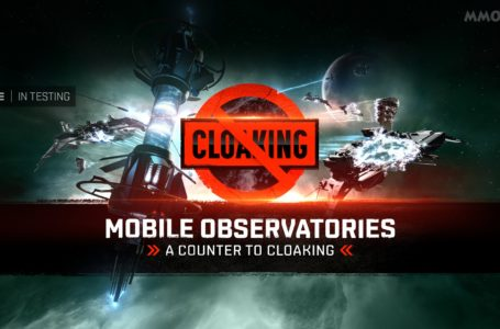 EVE Online is testing Mobile Observatory, a tool that should neutralize cloaked campers and modifies nullification and warp core stabilizers