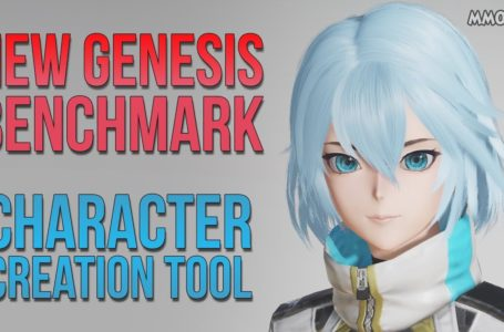 PSO2 New Genesis Benchmark Test And Character Creator Available Now On Their Website