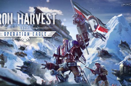 Iron Harvest Operation Eagle expansion launched, and it's on sale