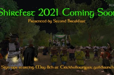 LOTRO Shirefest 2021 New Community Concert Series Will Be Hosted In Crickhollow