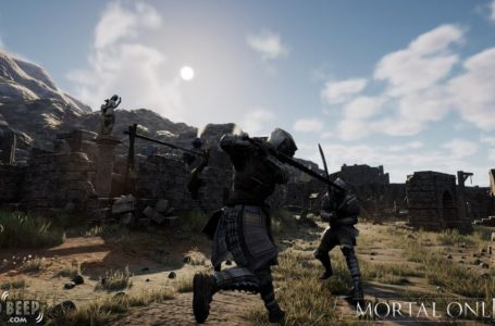 Mortal Online 2 mounted combat was released along with Easy Anti-Cheat software