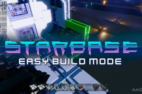 Starbase Easy Build mode updates and improved explosions are advertised in the latest patch notes
