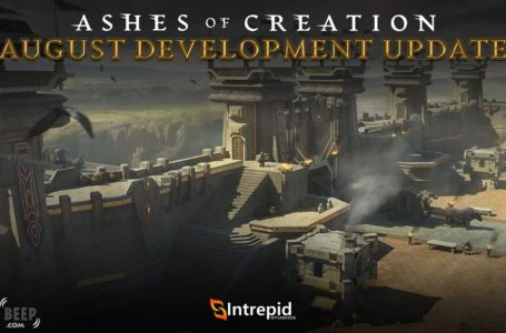 Ashes of Creation Development Update For August Released