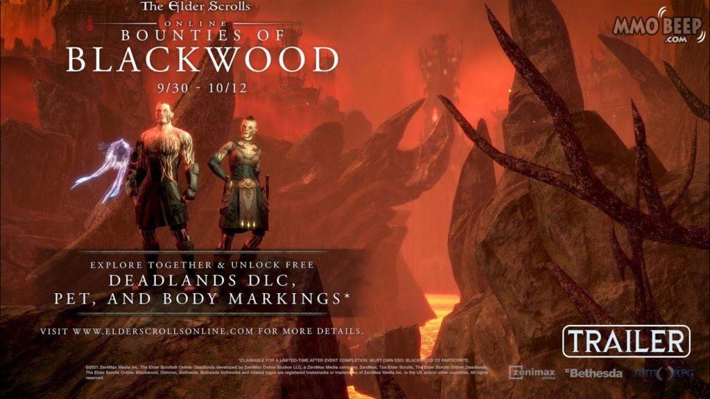 Elder Scrolls Online Bounties of Blackwood