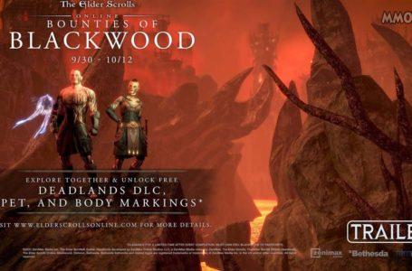 Elder Scrolls Online Bounties of Blackwood Event Last Tier Will Reward Players With FREE Deadlands DLC